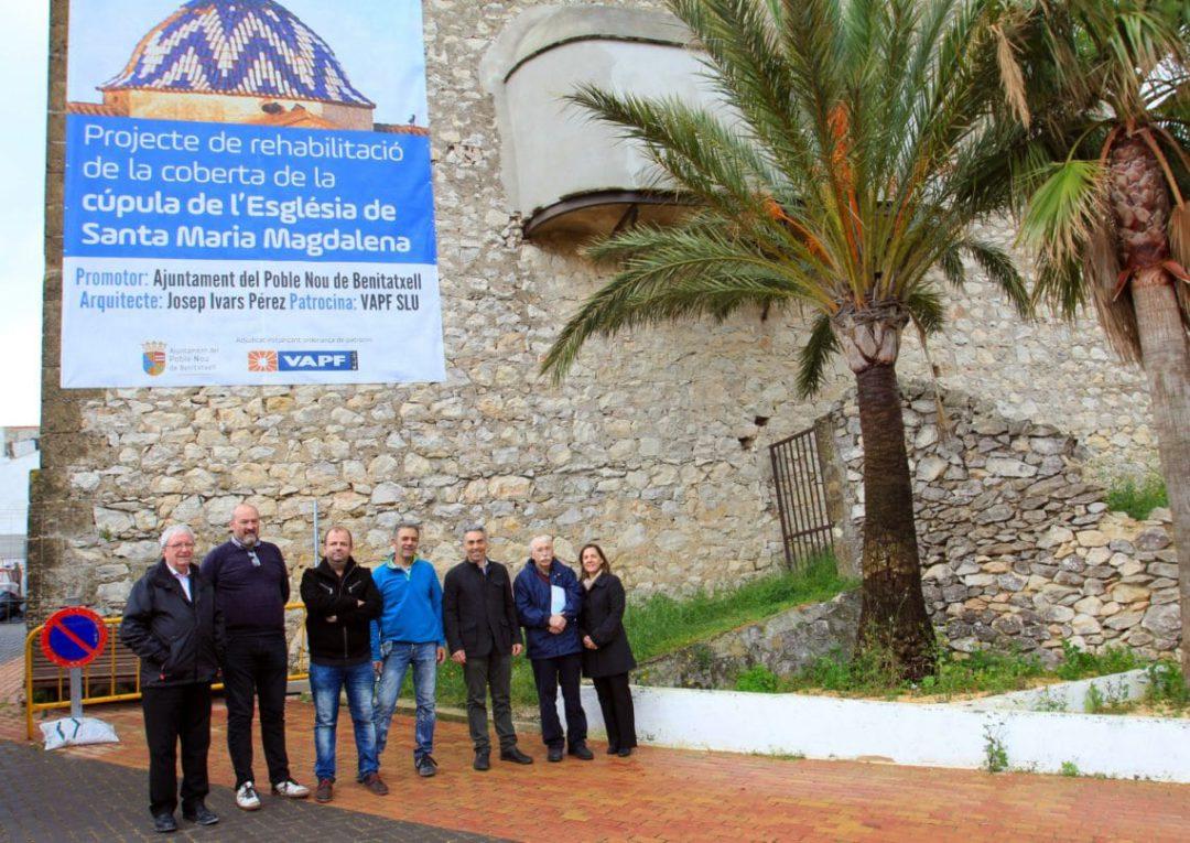 Visita a la cúpula de la Iglesia de Benitatxell