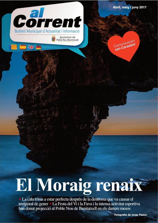 Nueva edición revista al Corrent con toda la información de Poble Nou de Benitatxell