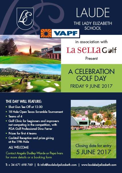 I Torneo de Golf Lady Elizabeth, Grupo VAPF entrega primer premio, en Club de Golf La Sella