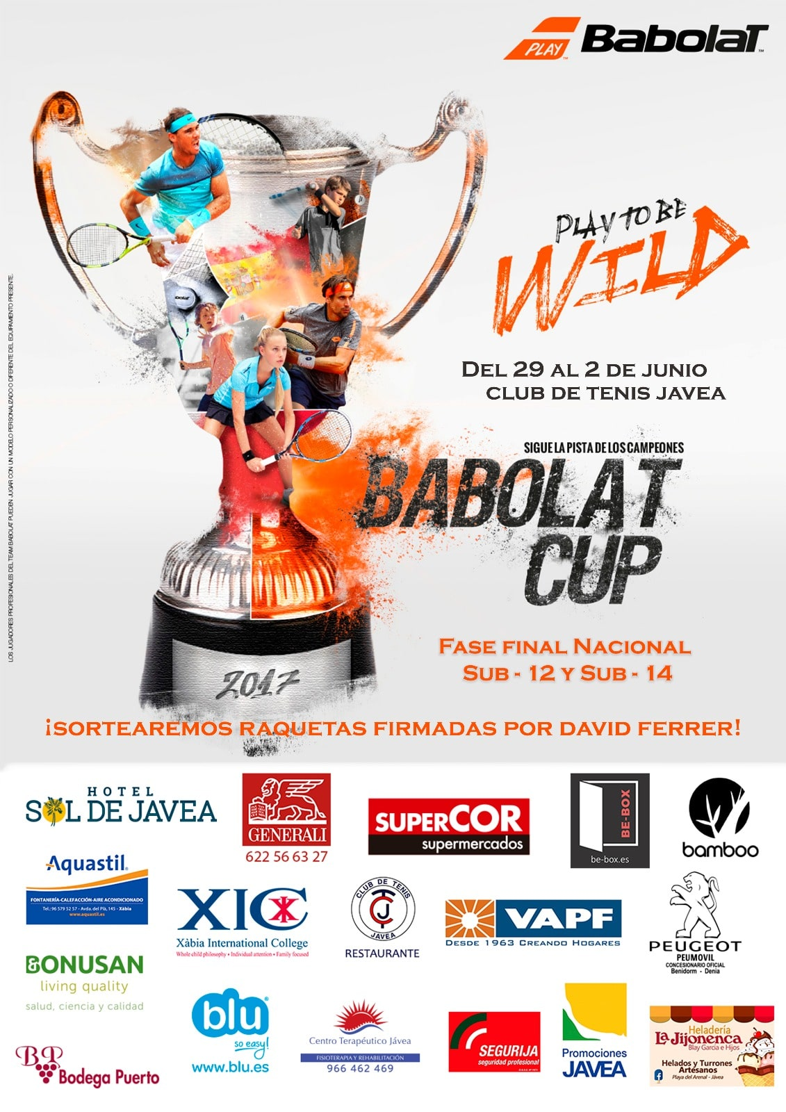 4th Babolat Cup at the David Ferrer Tennis Academy
