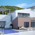 "Chalets modernos a la venta en Altea ""Azure Altea Homes"""