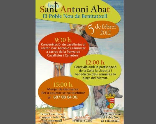 Fiestas de San Antonio Abad en Poble  Nou de Benitachell