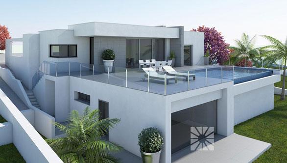 Lirios Design, nuevos chalets modernos en construcción