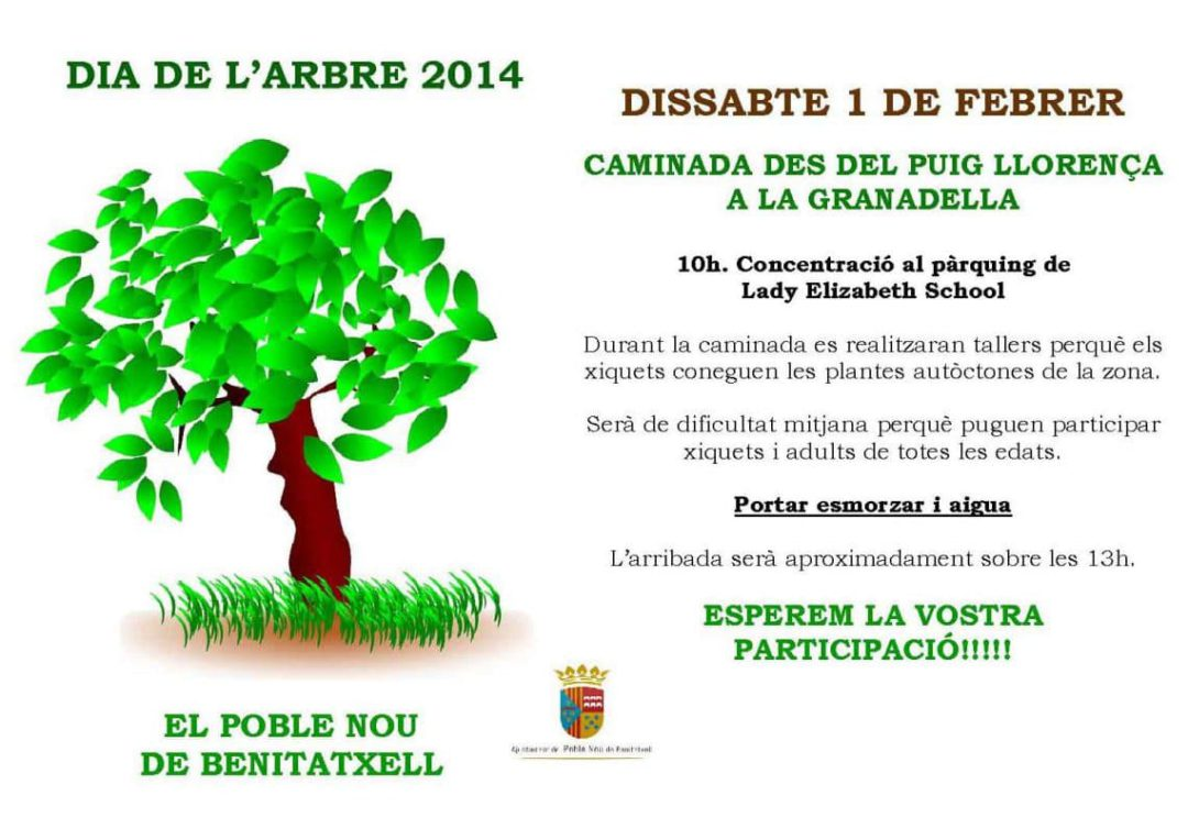 Benitachell celebra hoy el día del árbol