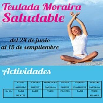 Aktiv und fit am Strand von Moraira