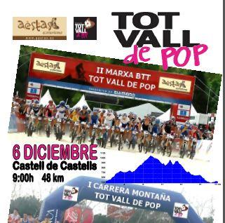 Cita deportiva en La Vall del Pop.