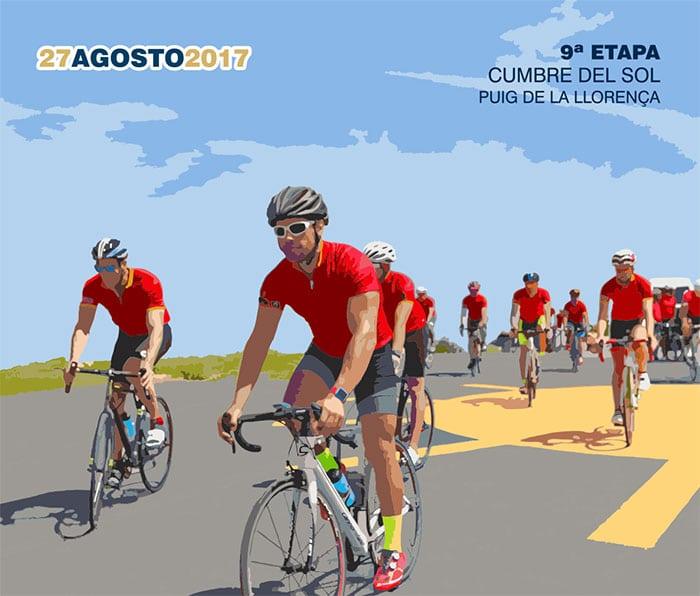 Cumbre del Sol lista para la Vuelta Ciclista España.