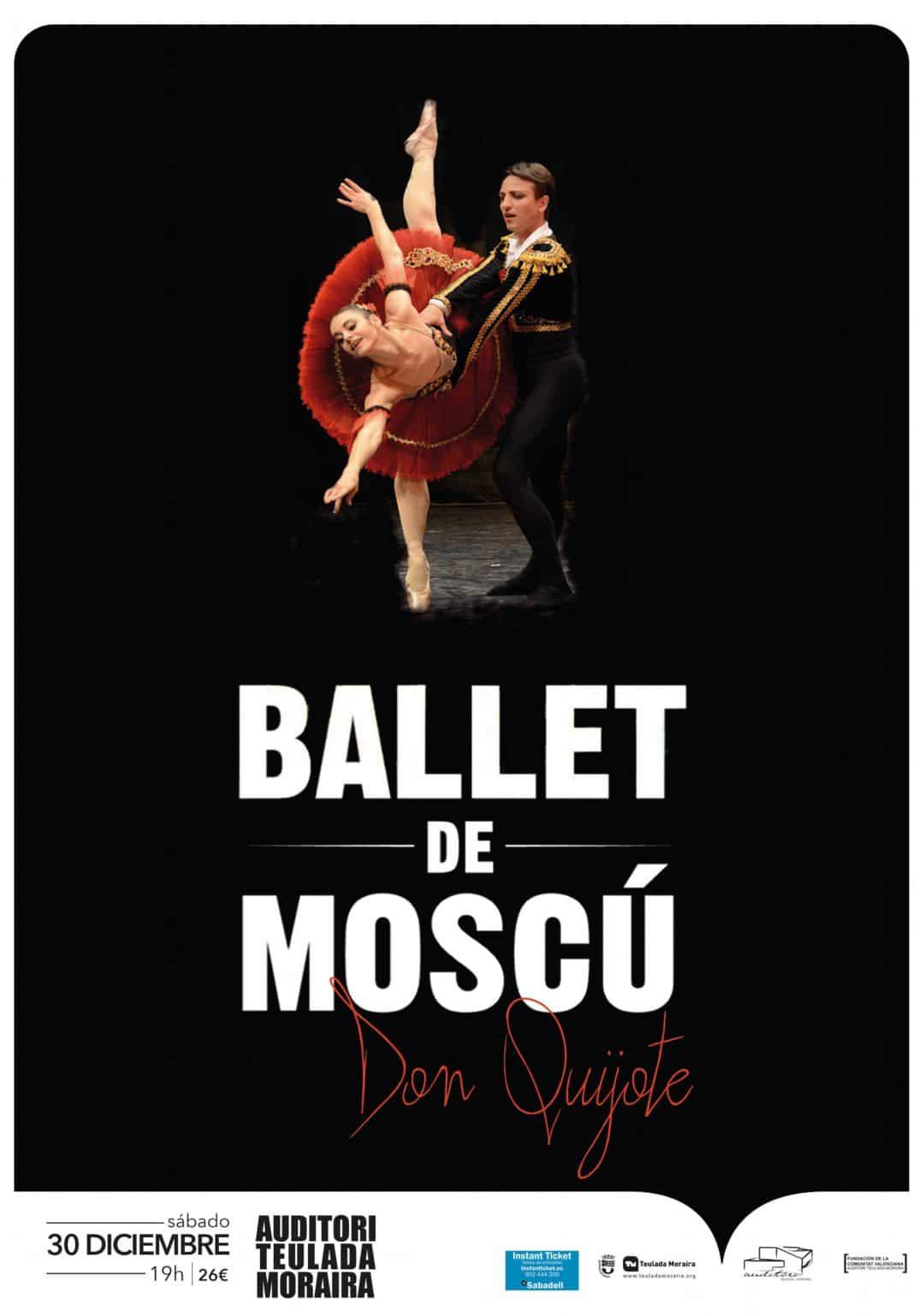 Reserva tus entradas para el Ballet de Moscú