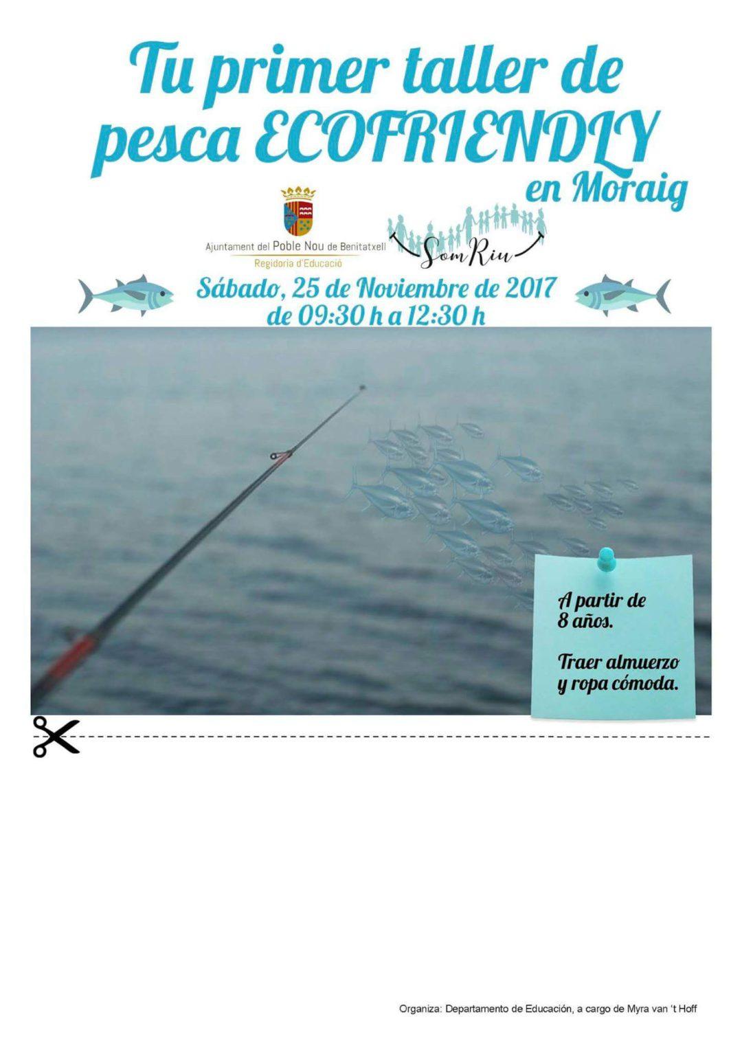 Taller Pesca Ecofriendly en la Cala Moraig.