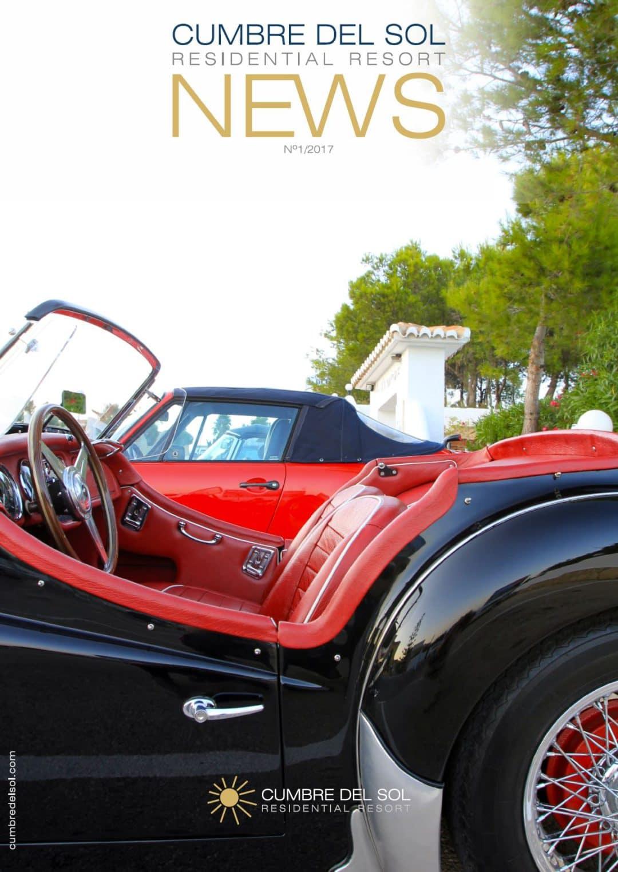 Erstausgabe der Zeitschrift Residential Resort Cumbre del Sol
