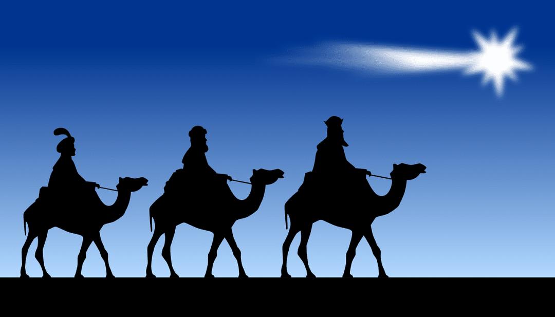 Drei Könige besuchen Benitatxell