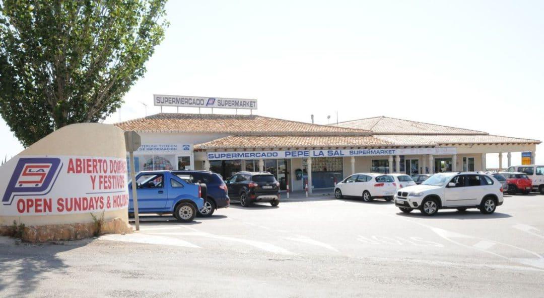 Voel u thuis wanneer u koopt bij de Pepe La Sal supermarkt in Cumbre del Sol