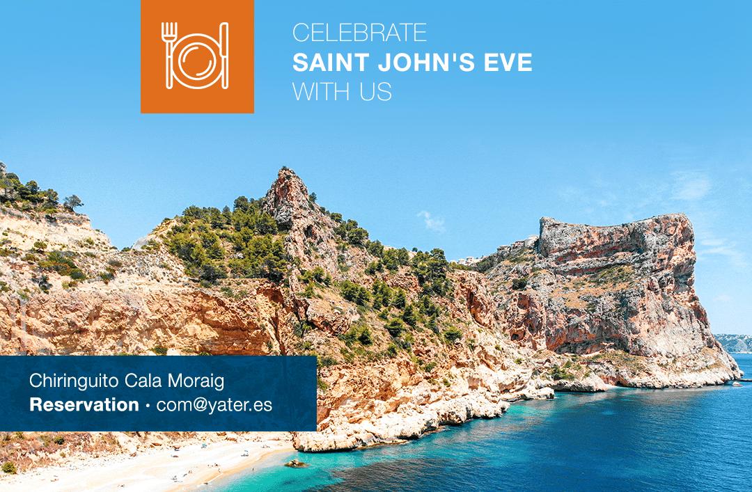 Enjoy Saint John's Eve at chiringuito Cala de Moraig