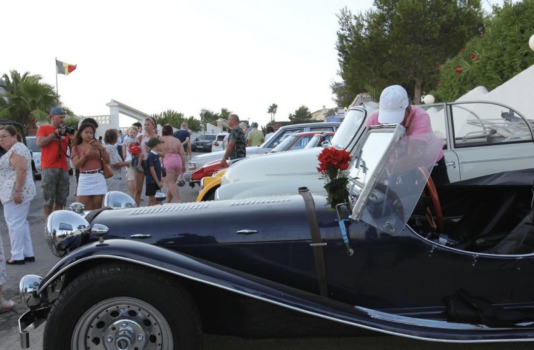 2nd Classic Car Rally in Cumbre del Sol