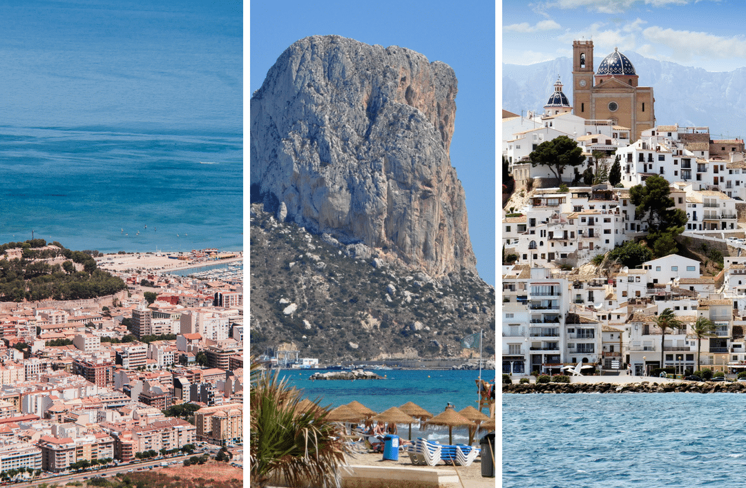 Three cities to visit close to Cumbre del Sol (I): Denia, Calpe, and Altea
