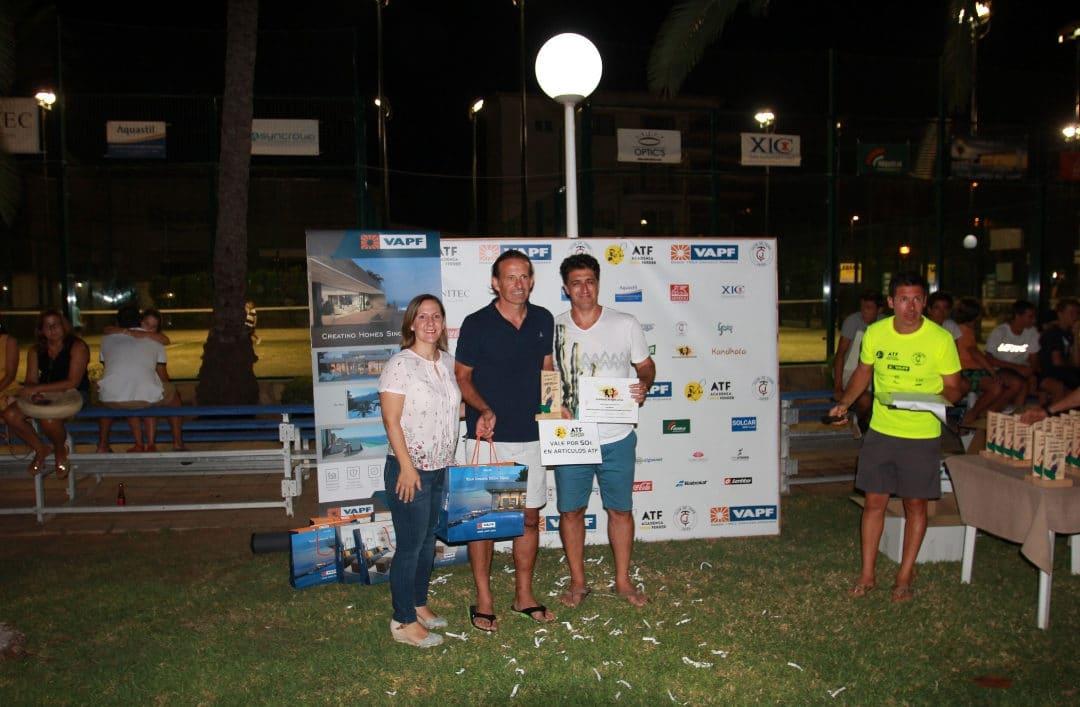 VAPF apoya una exitosa edición del Open del Club de Tenis Jávea
