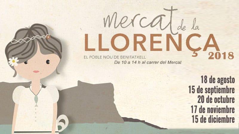 Mercat de la Llorença: el tercer sábado de cada mes