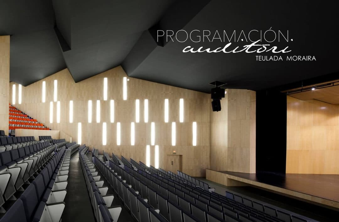 Events close to Cumbre del Sol: don't miss the programme at the Teulada-Moraira auditorium