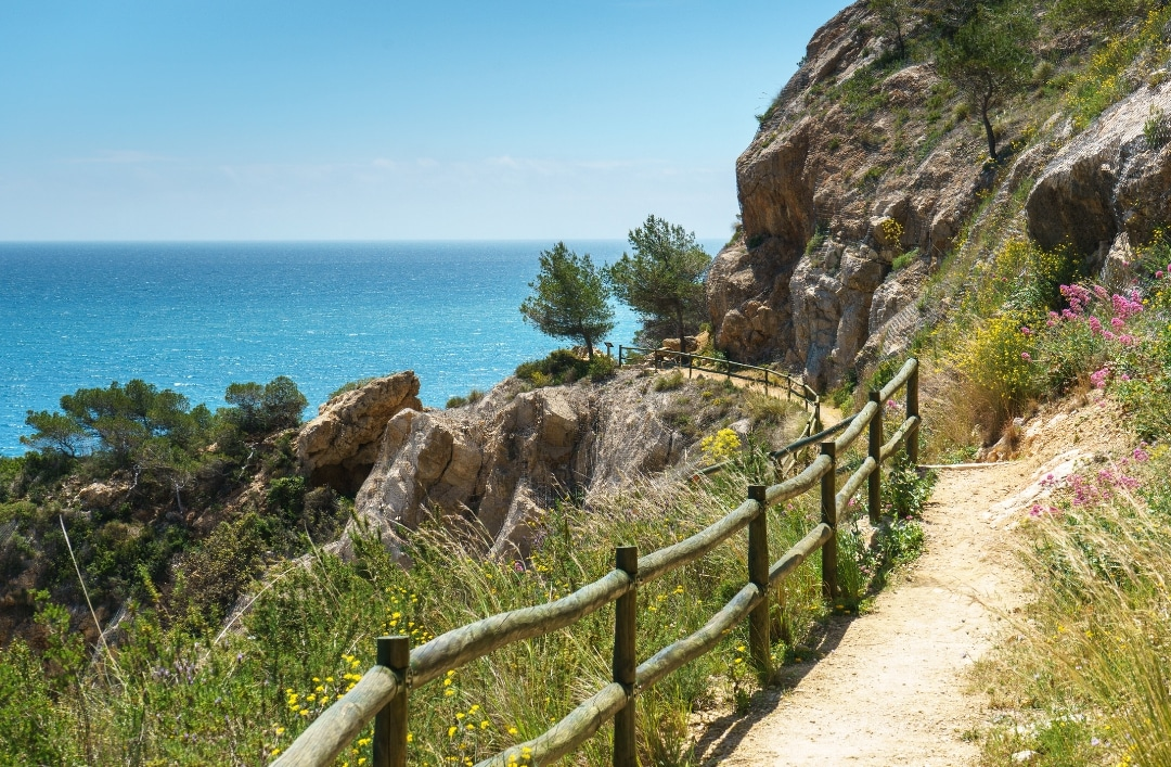 Hiking trails close to Cumbre del Sol Residential Resort