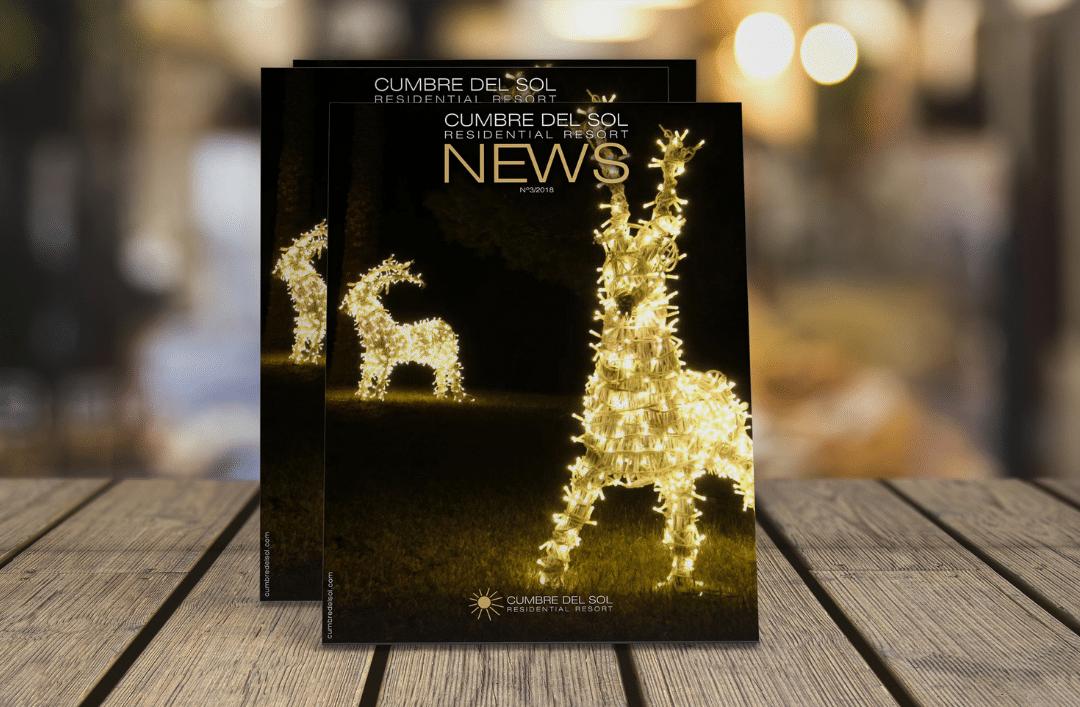 Ya está disponible la tercera edición de nuestra revista Residential Resort Cumbre del Sol