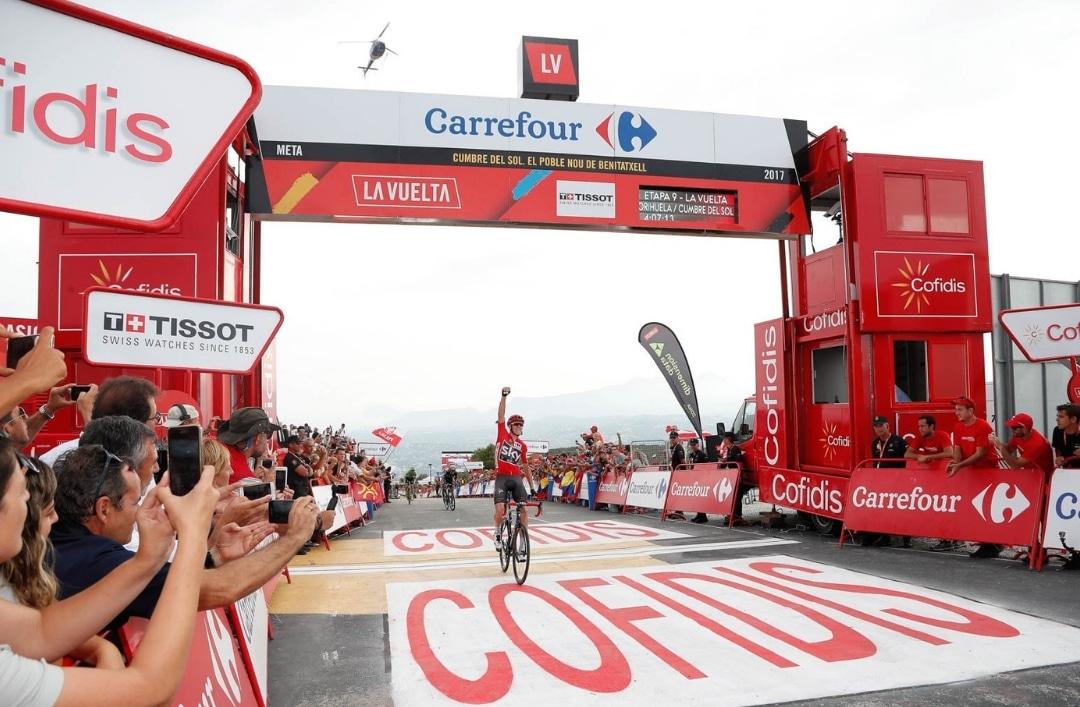 The Vuelta a España returns to Cumbre de Sol!