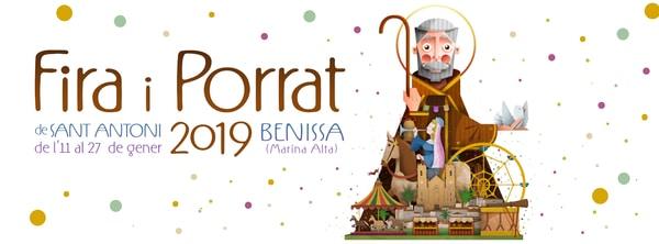 """""""Fira i Porrat de Sant Antoni"""" 2019 de Benissa"""