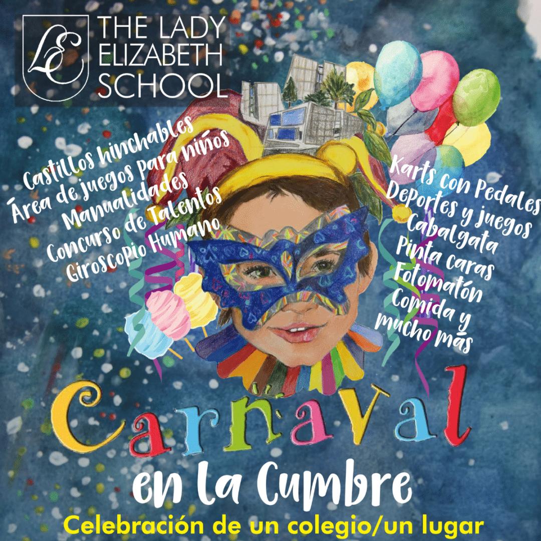 El colegio The Lady Elizabeth te invita a su Carnaval en la Cumbre