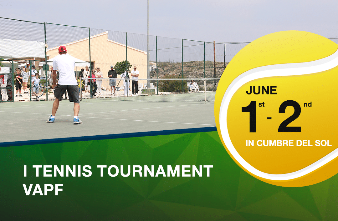 Join us for the opening of the new tennis courts at Cumbre del Sol Residential Resort!