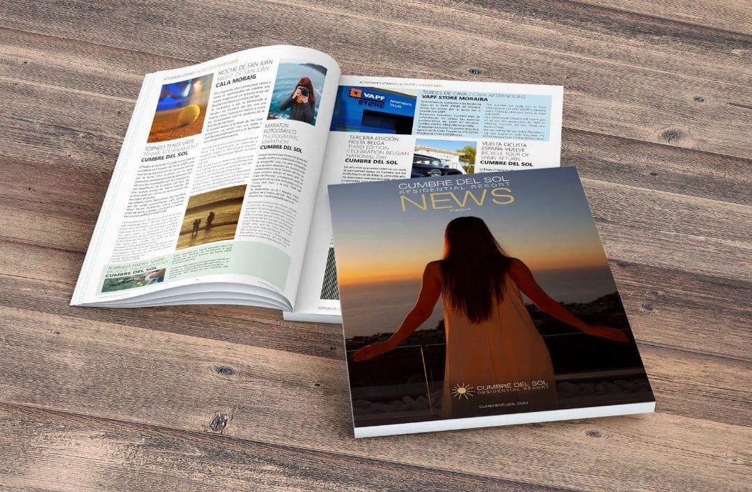 No te pierdas la cuarta edición de nuestra revista Residential Resort Cumbre del Sol