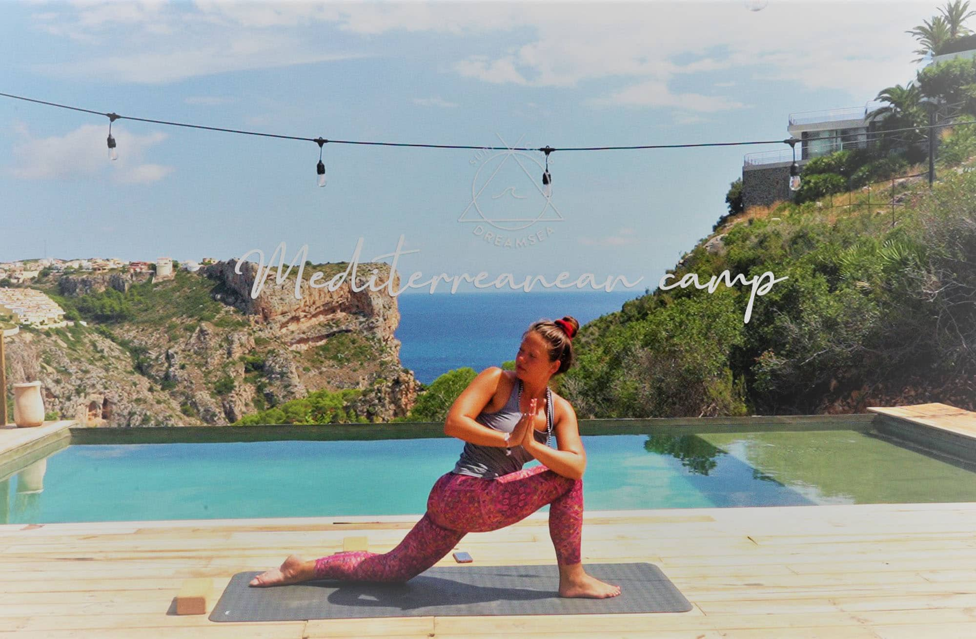 Yoga at Dreamsea Mediterranean in Cumbre del Sol