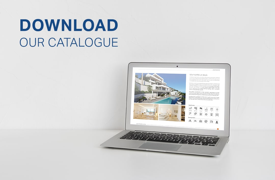 Nieuwe catalogus met woningbouwprojecten: uw nieuwe leven wacht op u in Cumbre del Sol